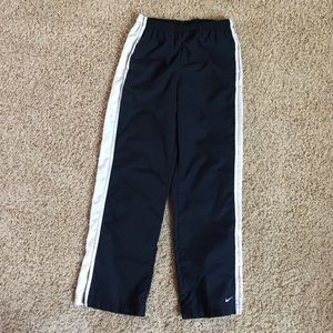 Nike Running Jogging Track Pants White Small 4-6